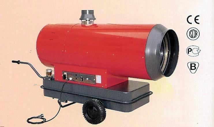 Idropulitrici generatori aria calda condizionatori - Riscaldamento aria canalizzata ...